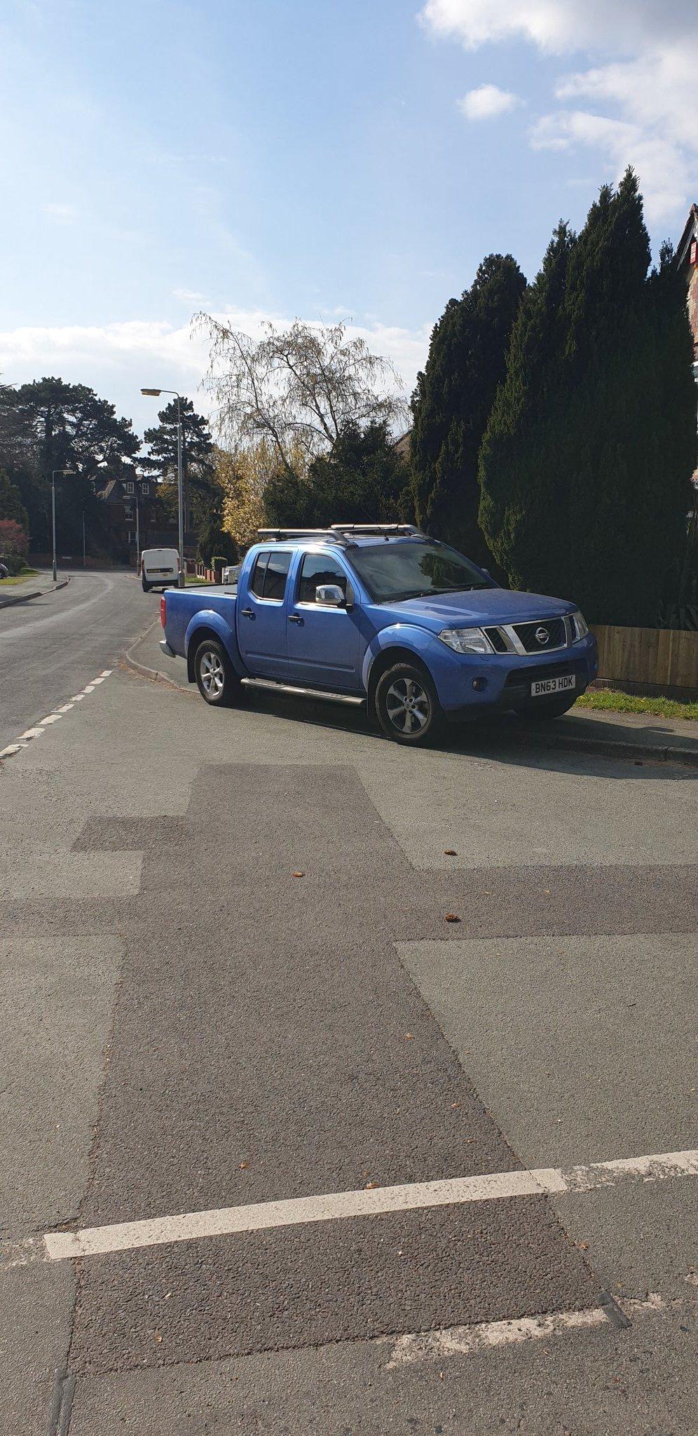 BN63 HDK displaying Selfish Parking