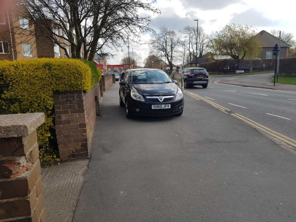 SH60 JFV displaying crap parking