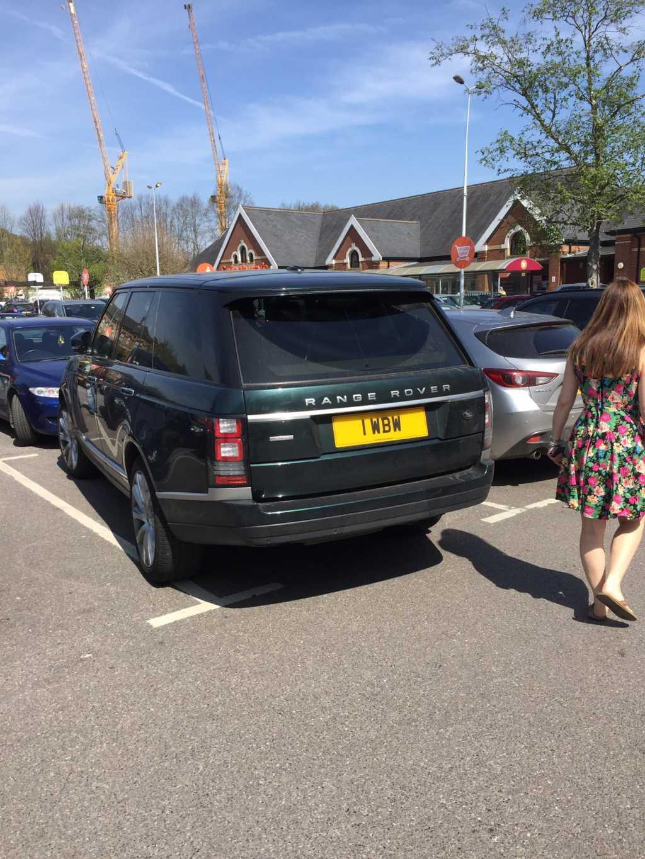 I WBW displaying crap parking