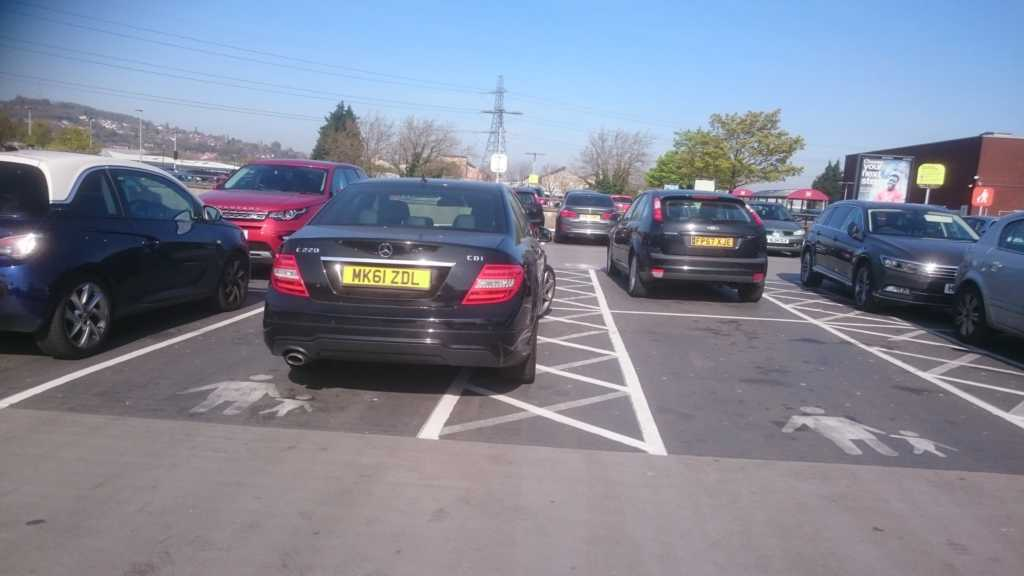MK61 ZDL displaying crap parking