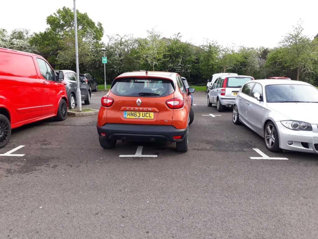 HN63 UCL displaying Selfish Parking