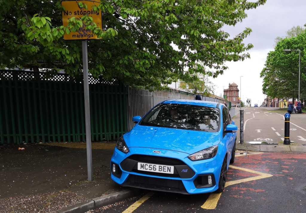 MC56 BEN displaying crap parking