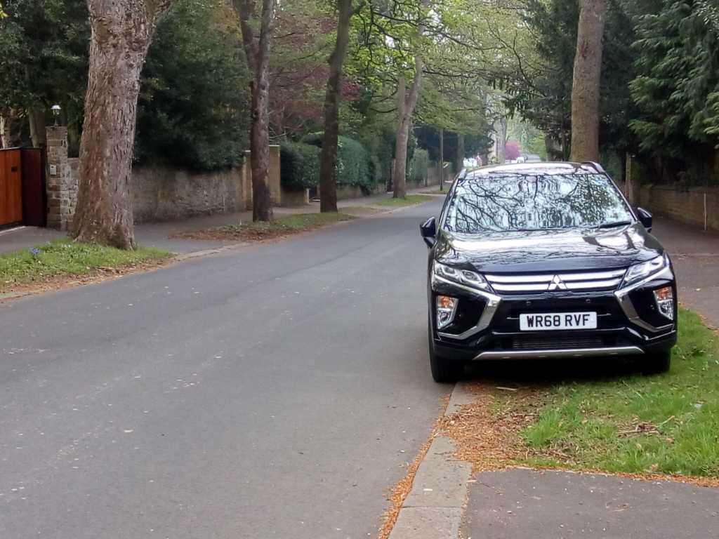 WR68 RFV displaying Selfish Parking