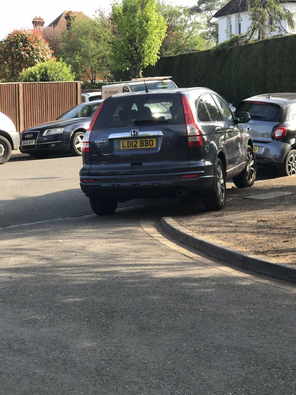 LD12 BBO displaying Selfish Parking