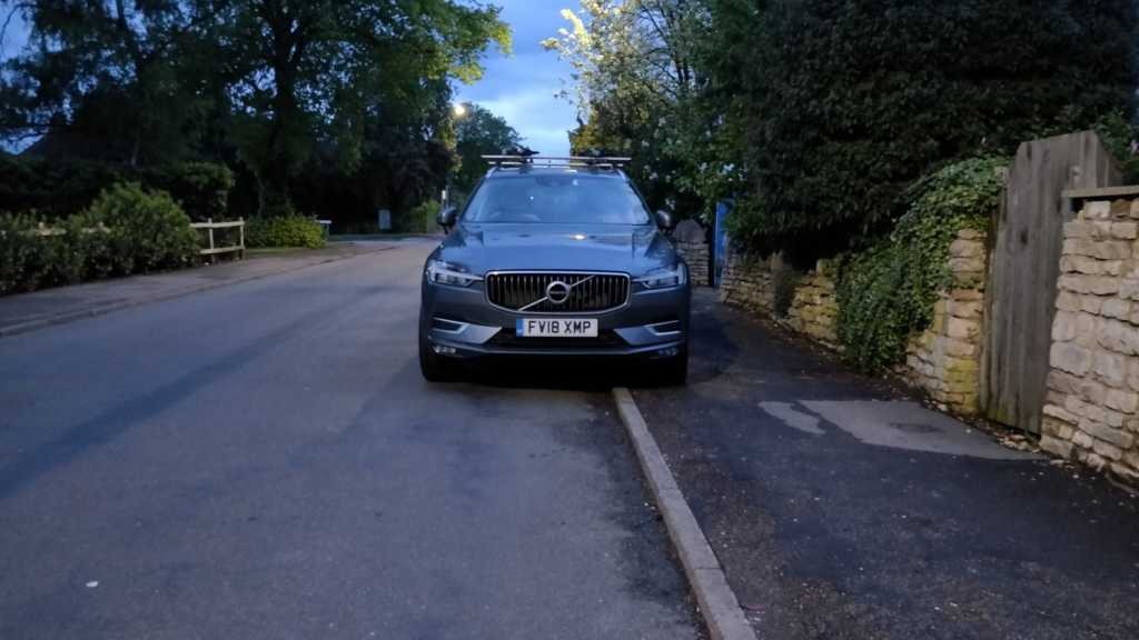 FV18 XMP displaying Inconsiderate Parking