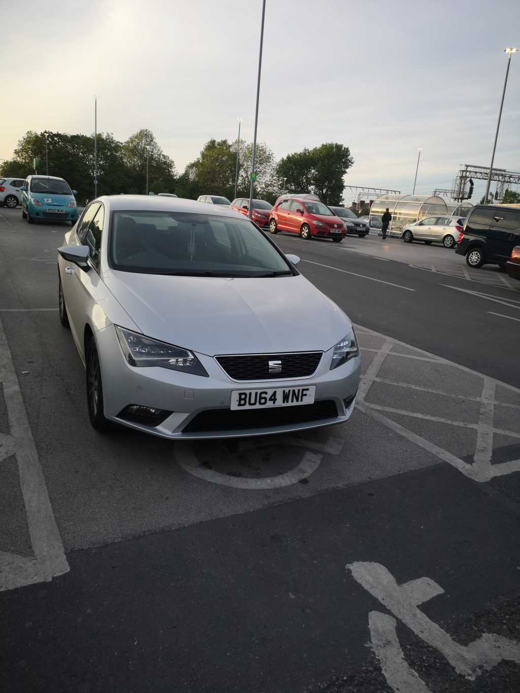 BU64 WNF is an Inconsiderate Parker