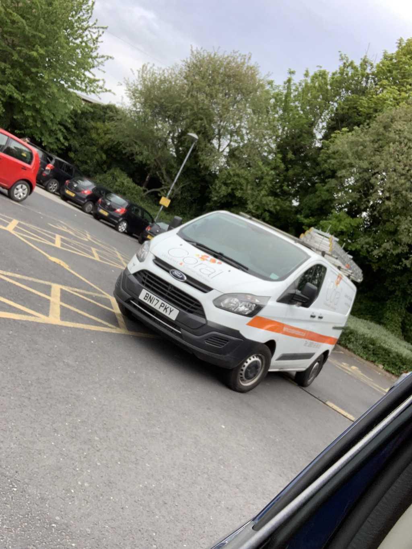 BN17 PKY displaying crap parking