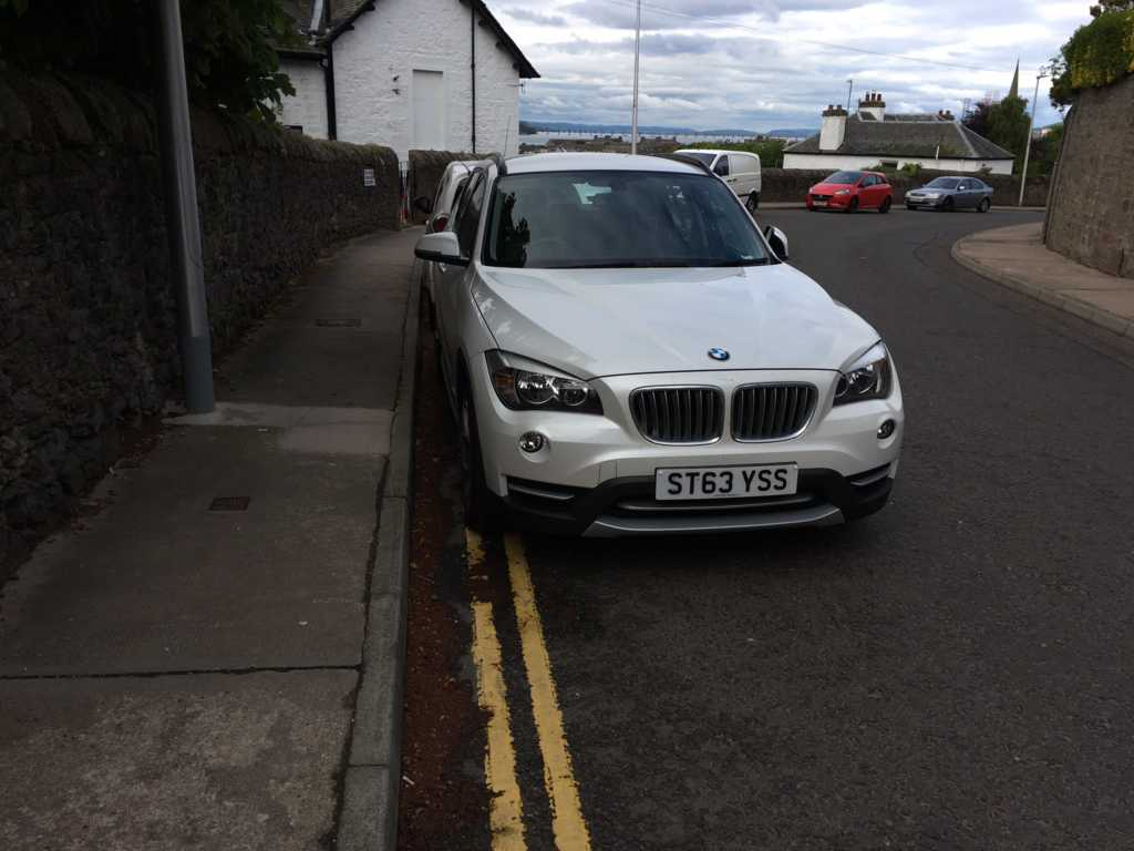 ST63 YSS displaying Selfish Parking