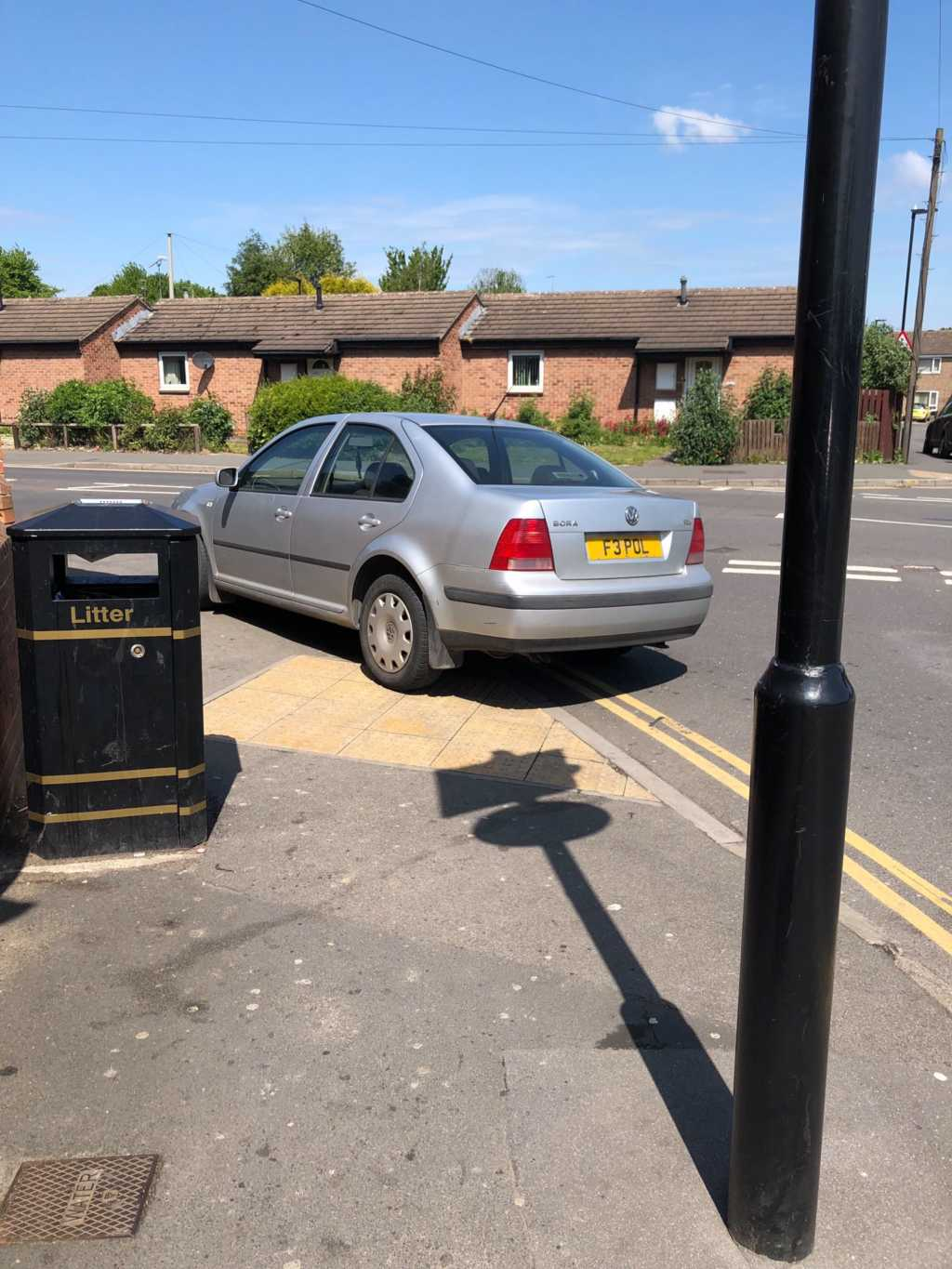 F3 POL displaying Inconsiderate Parking