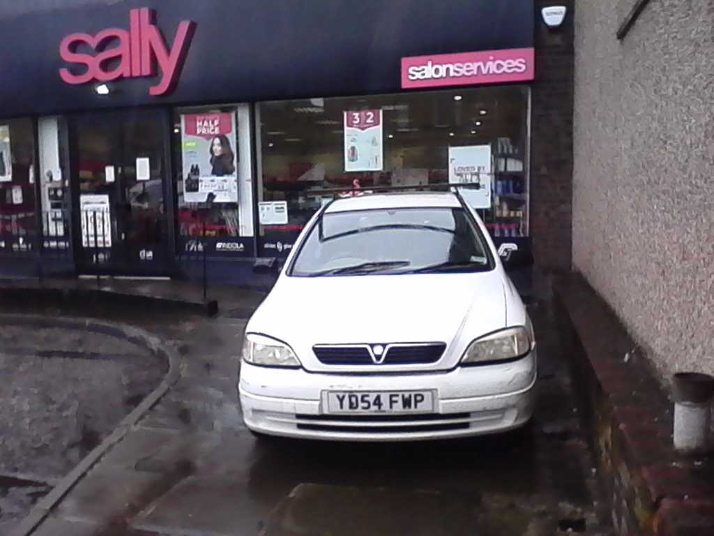 YD54 FWP displaying crap parking