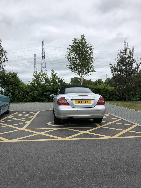 H3 BTX displaying crap parking
