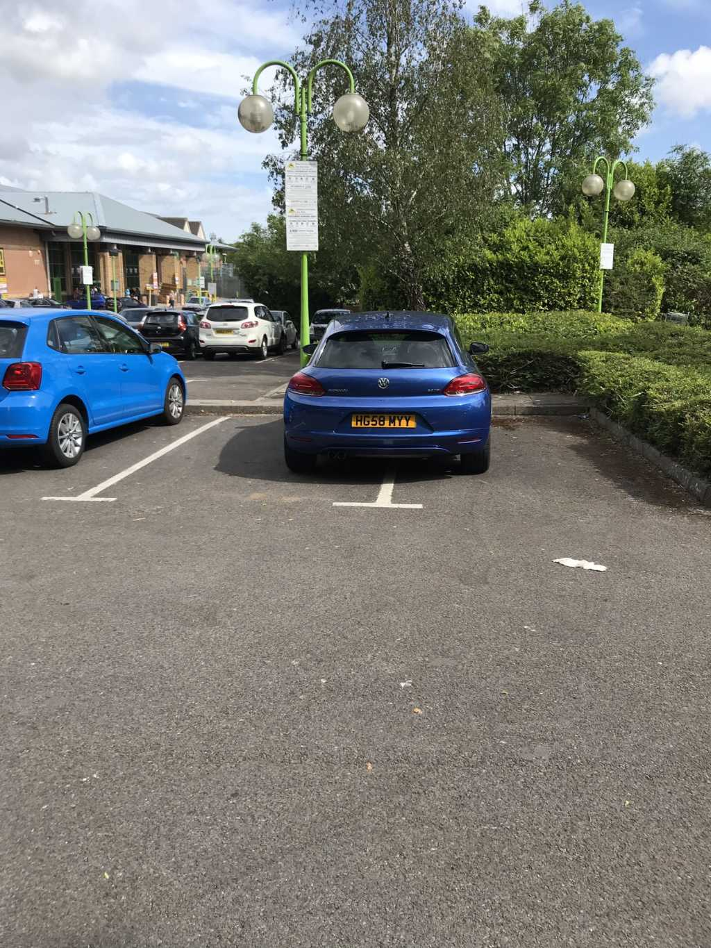 HG58 MYY is a Selfish Parker