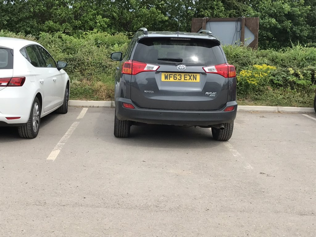 WF63 EXN is an Inconsiderate Parker