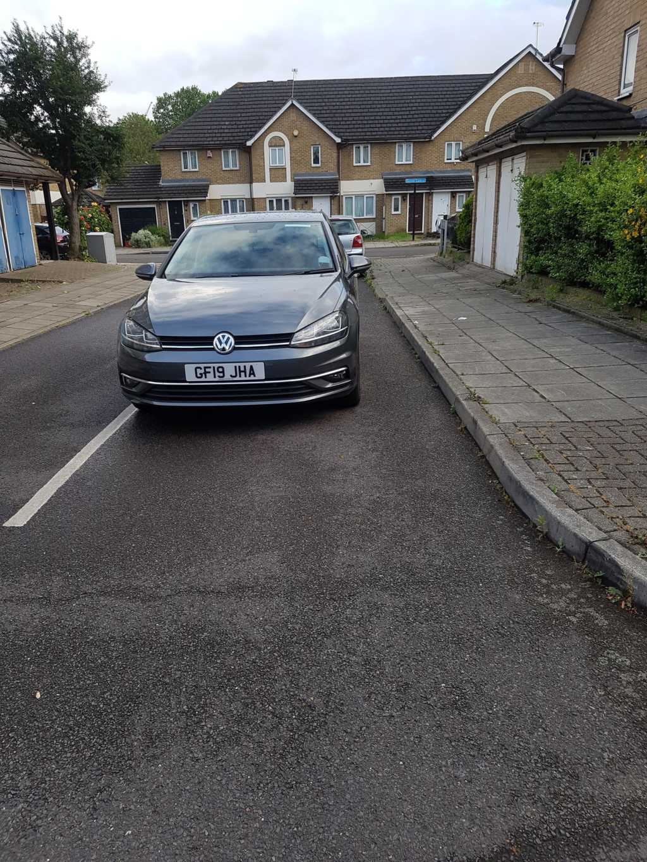 GF19 JHA displaying crap parking