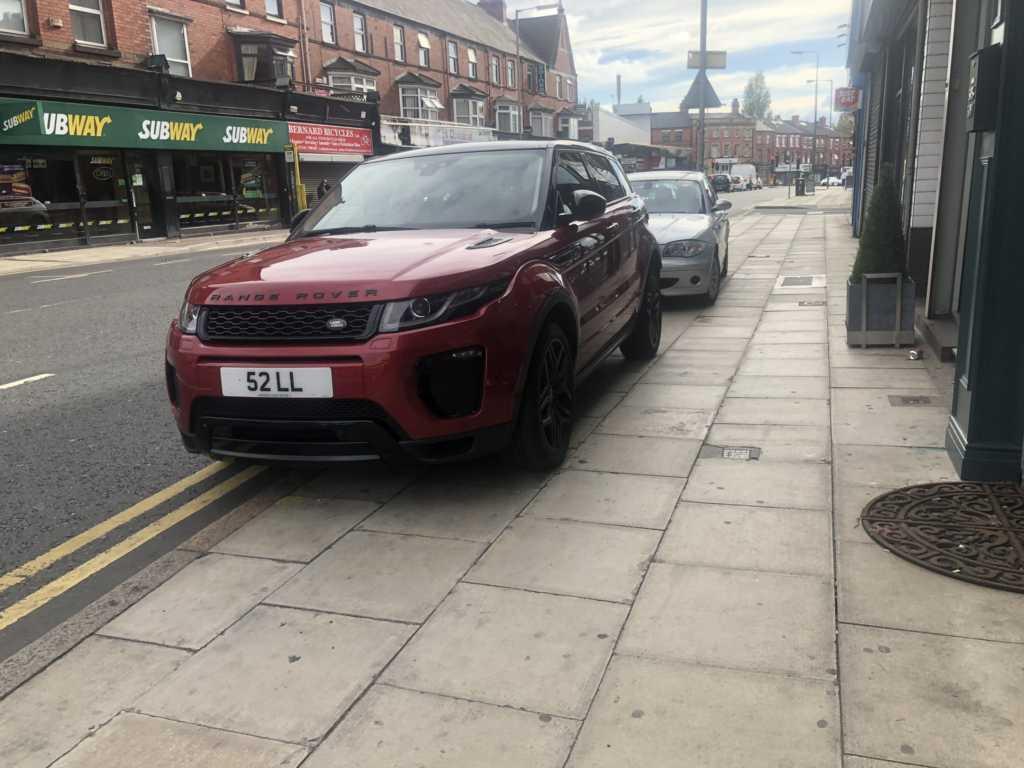 52 LL displaying crap parking