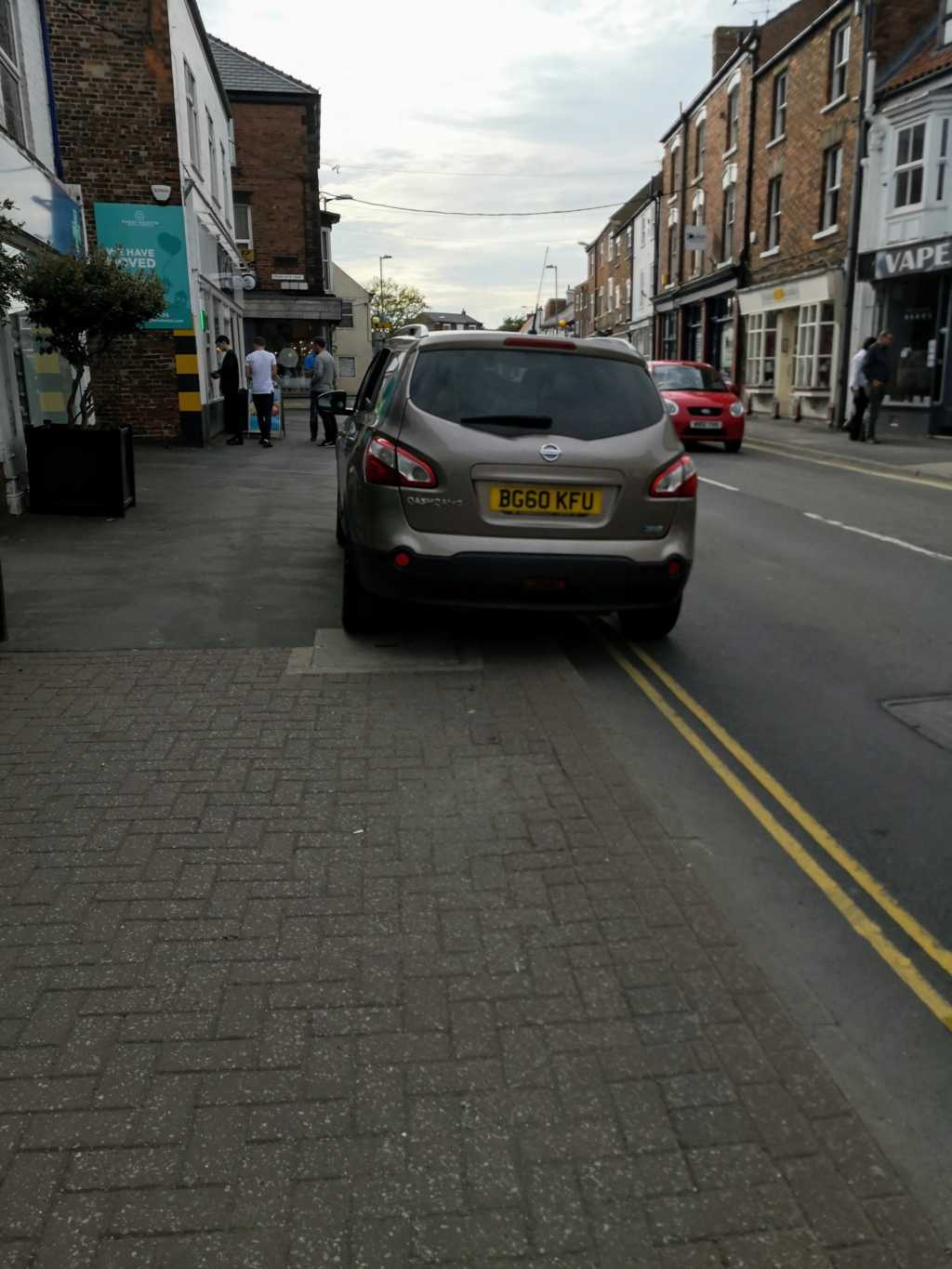 BG60 KFU displaying Selfish Parking