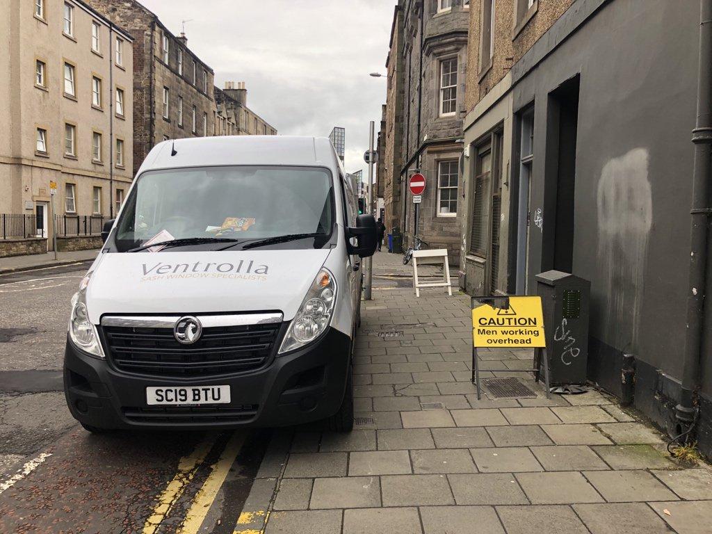 SC19 BTU displaying Selfish Parking