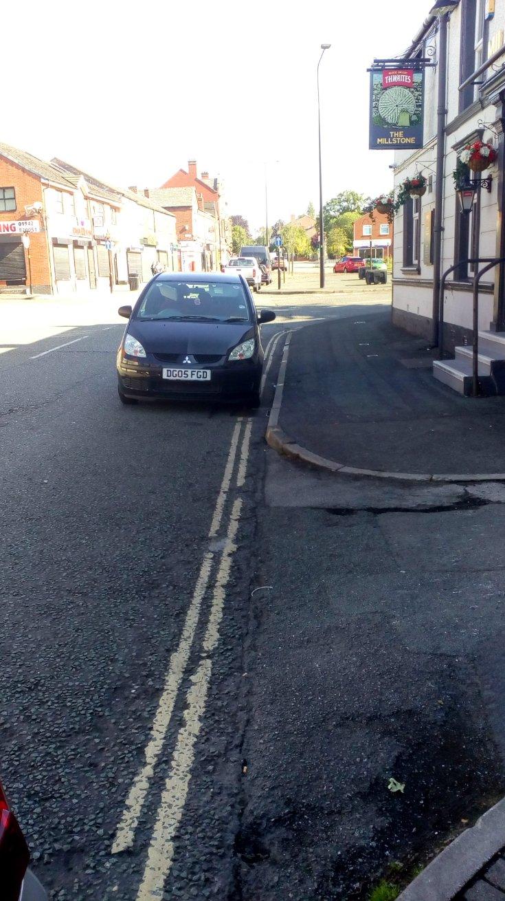 DG05 FGD displaying Selfish Parking
