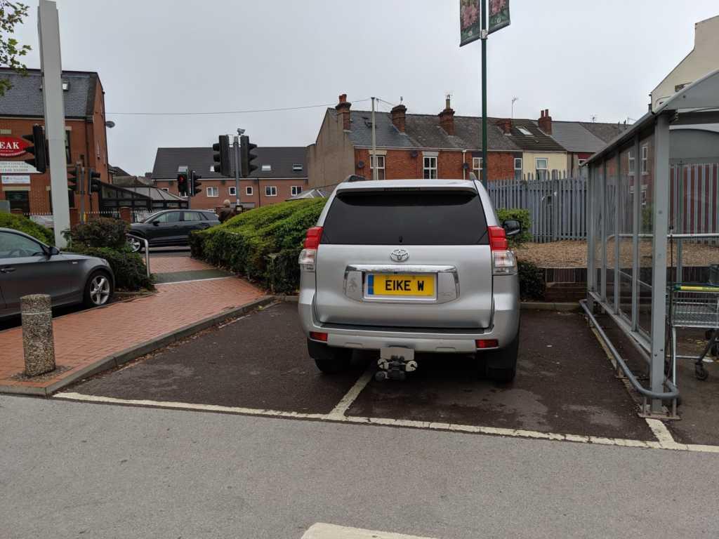 EIKE W displaying Selfish Parking
