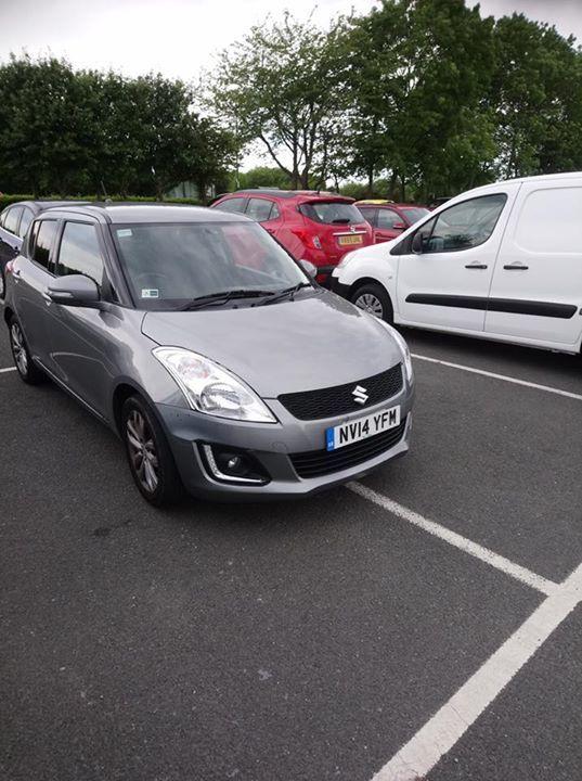 NV14 YFM displaying Inconsiderate Parking