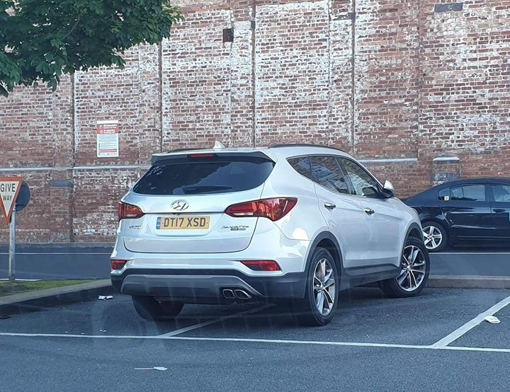 DT17 XSD displaying Inconsiderate Parking