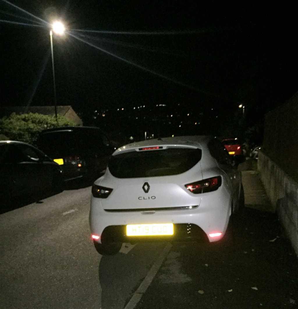 HT19 CUO displaying Selfish Parking