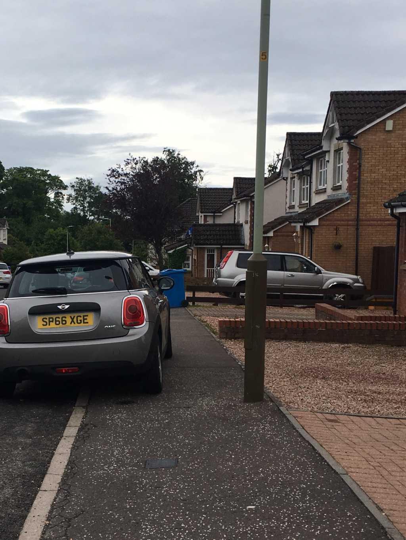 SP66 XGE displaying crap parking