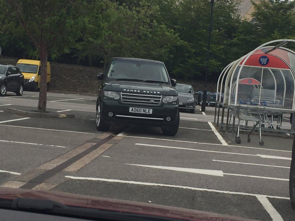 AO60 NLE displaying Selfish Parking