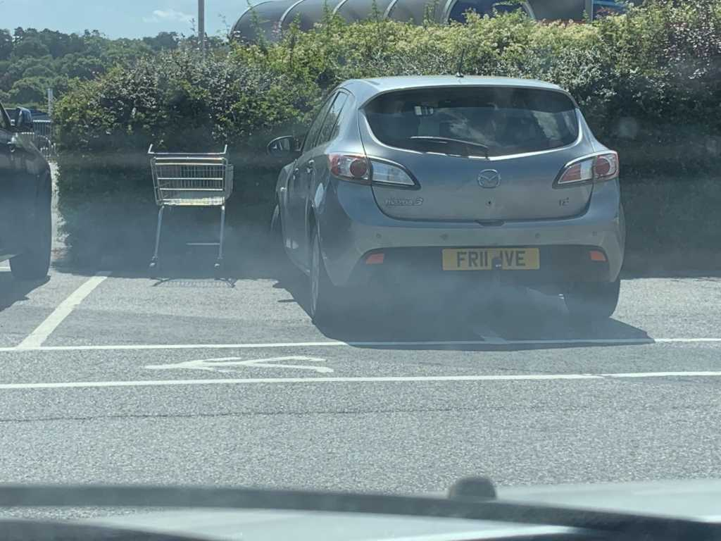 FR11 IVE is a crap parker