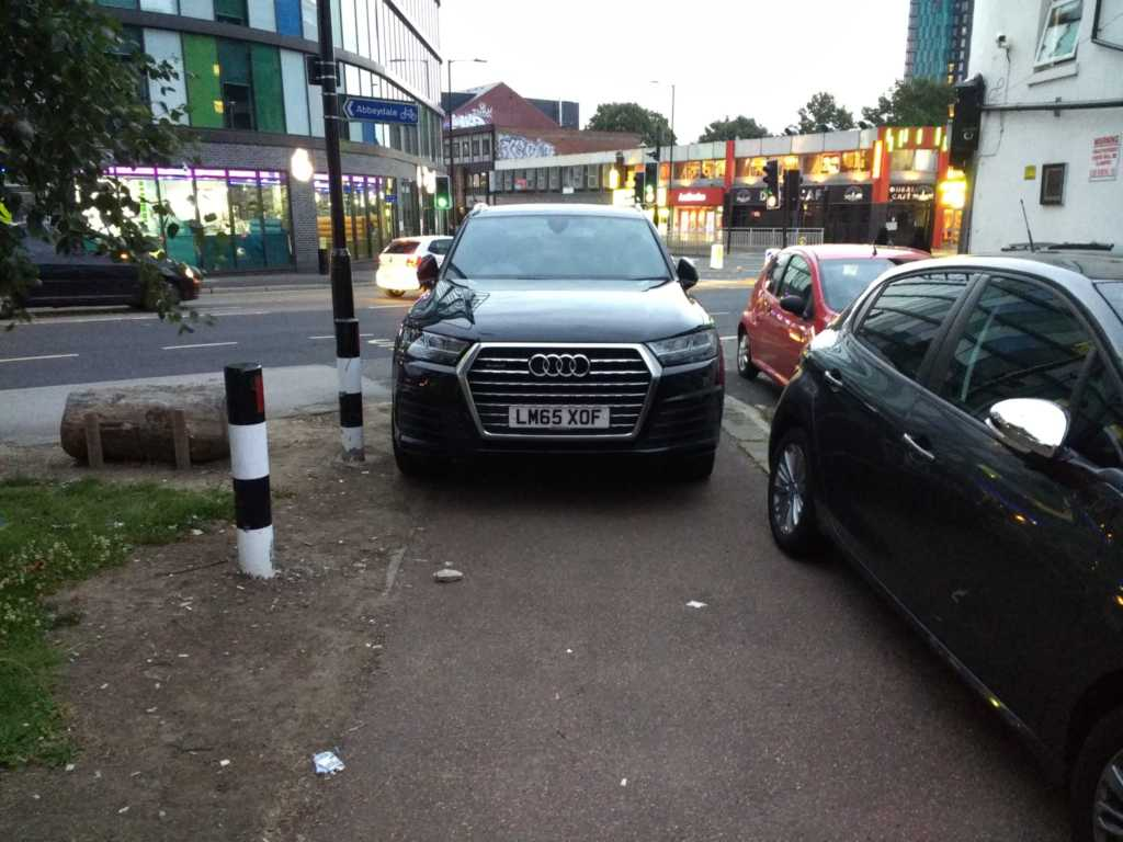 LM65 XOF is a Selfish Parker