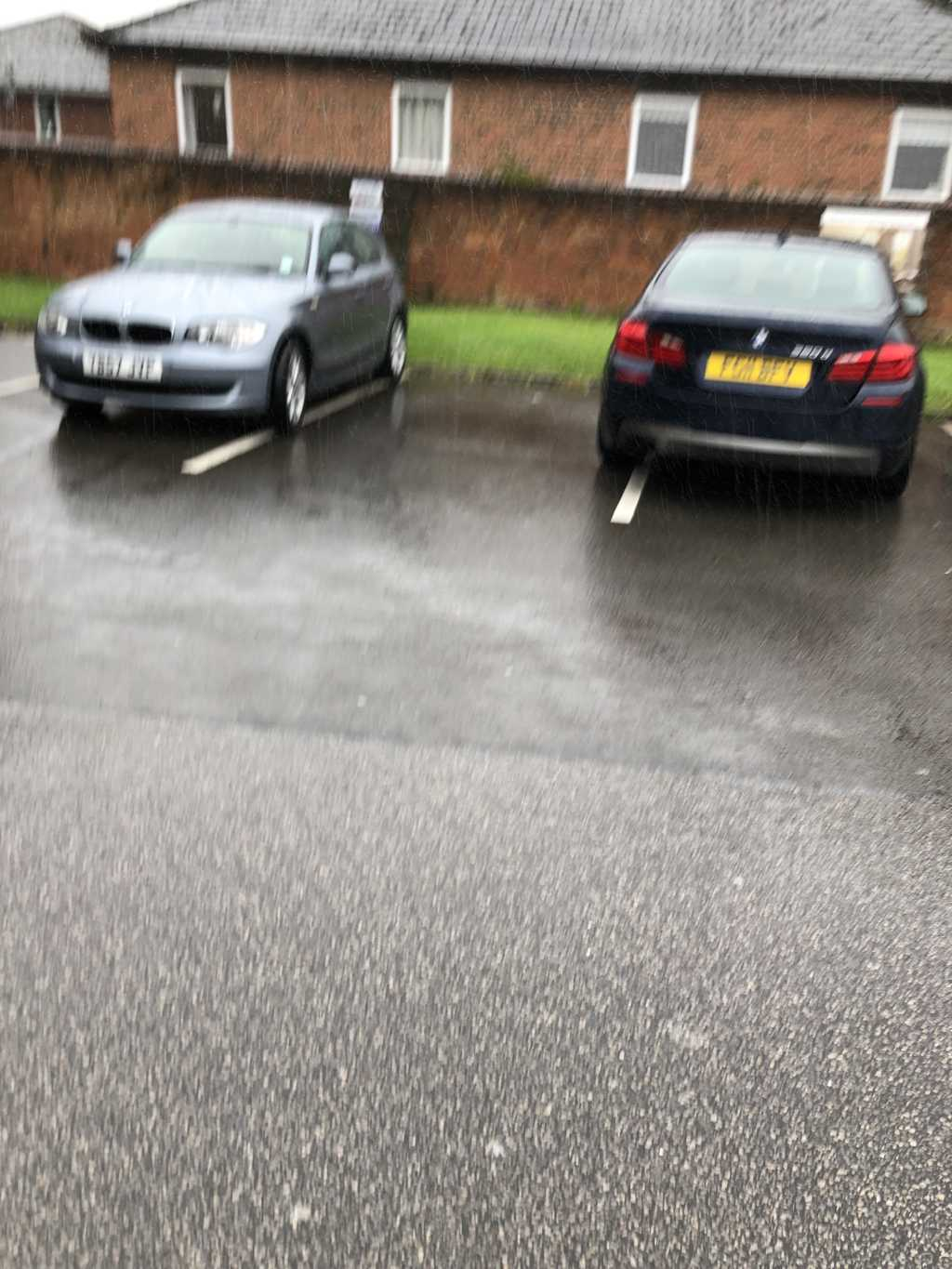 REG NOT ADDED is an Inconsiderate Parker