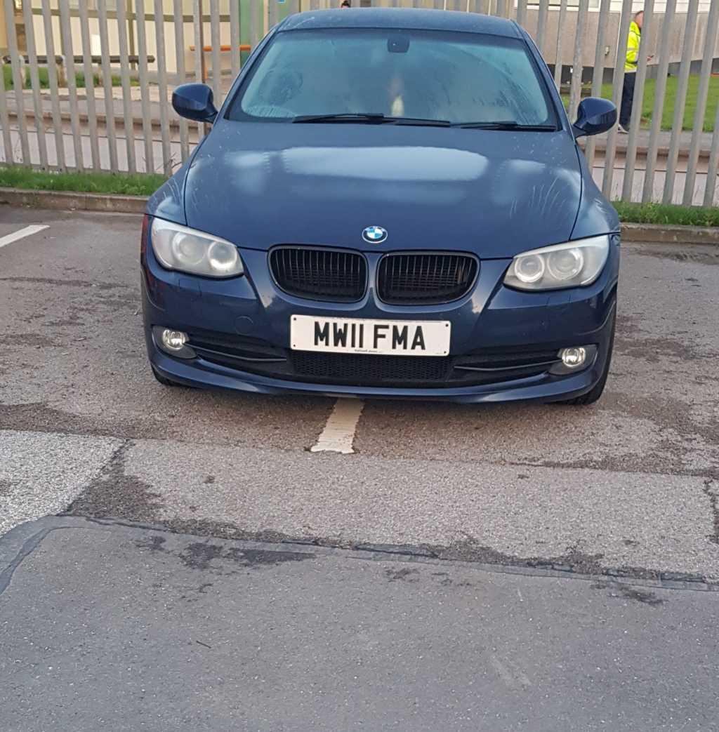 MW11 FMA displaying crap parking