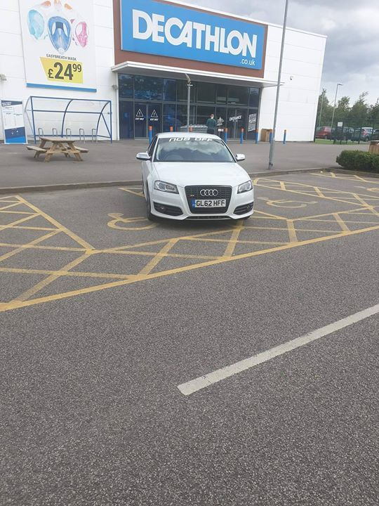 GL62 HFF displaying crap parking