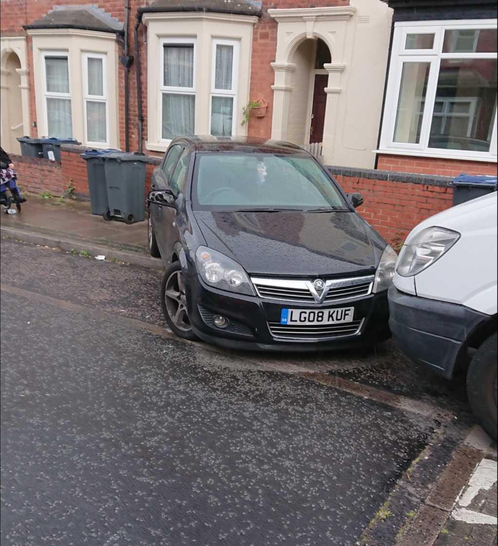 LG08 KUF displaying Selfish Parking