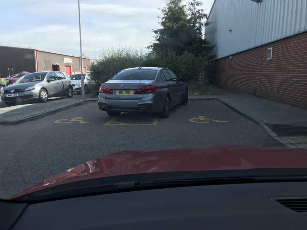 M11 JNS is an Inconsiderate Parker