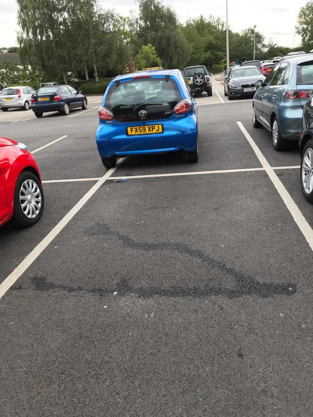 FX59 XPJ is an Inconsiderate Parker