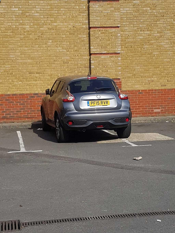 PF15 RVR displaying Selfish Parking