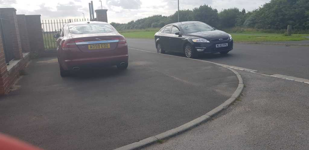 AD59 EDO displaying crap parking