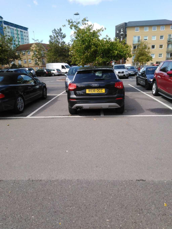 RE18 OCC displaying crap parking