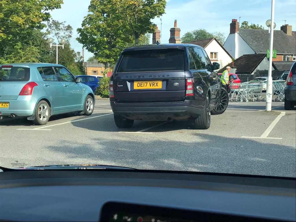 OE17 VRX is an Inconsiderate Parker