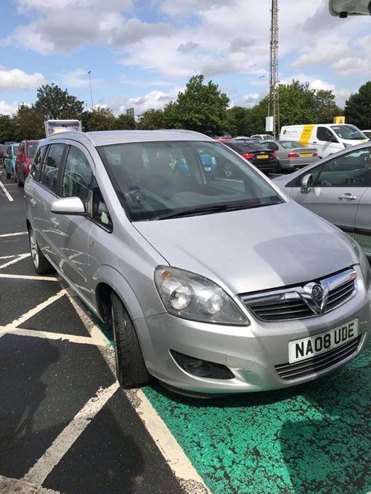 NA08 UDE displaying Selfish Parking