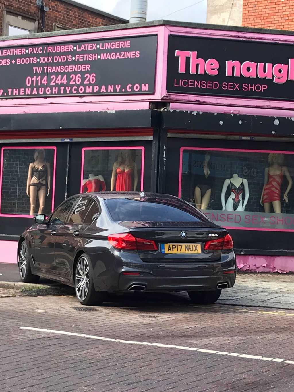 AP17 NUX displaying crap parking