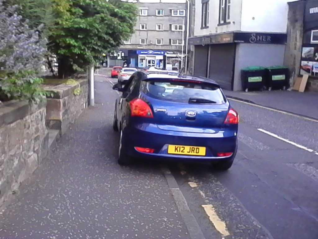 K12 JRD displaying crap parking