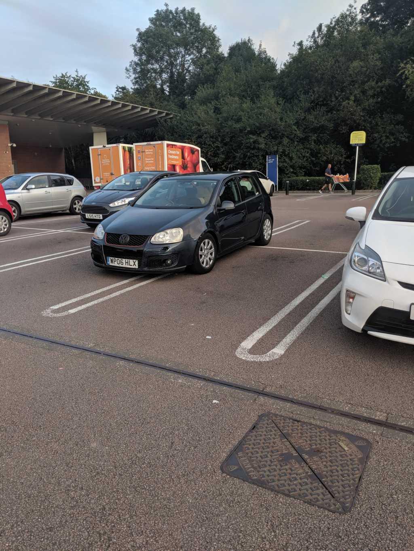 WP06 HLX displaying Selfish Parking