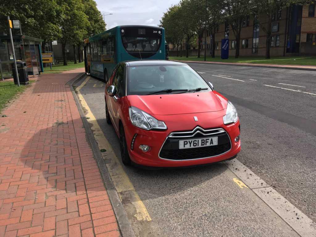 PY61 BFA displaying crap parking