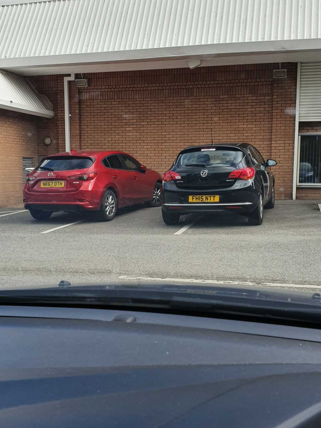 NK67 OTH & FH15 NTT is an Inconsiderate Parker