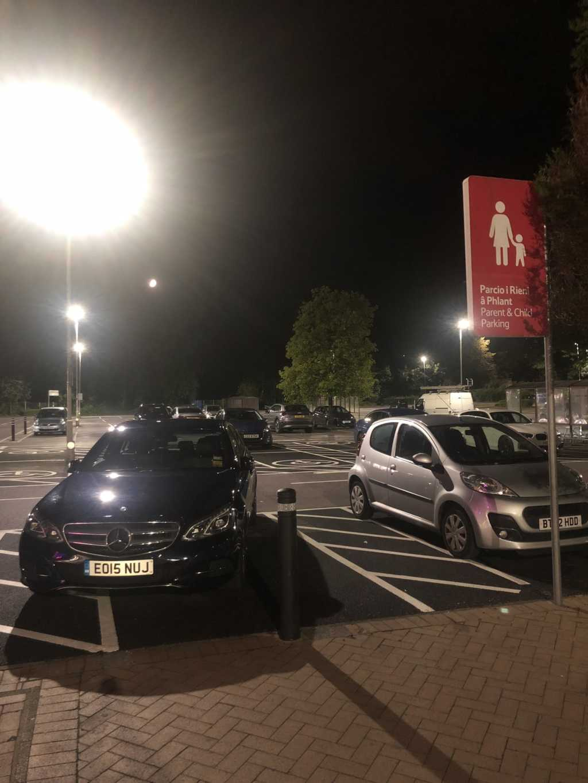 EO15 NUJ displaying Selfish Parking