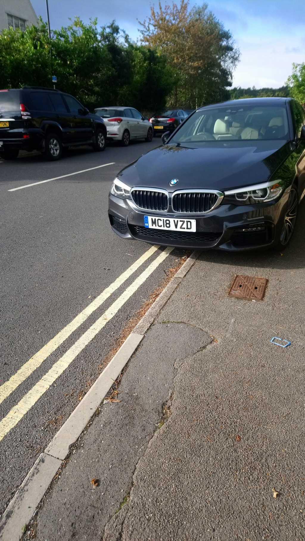 MC18 VZD displaying crap parking