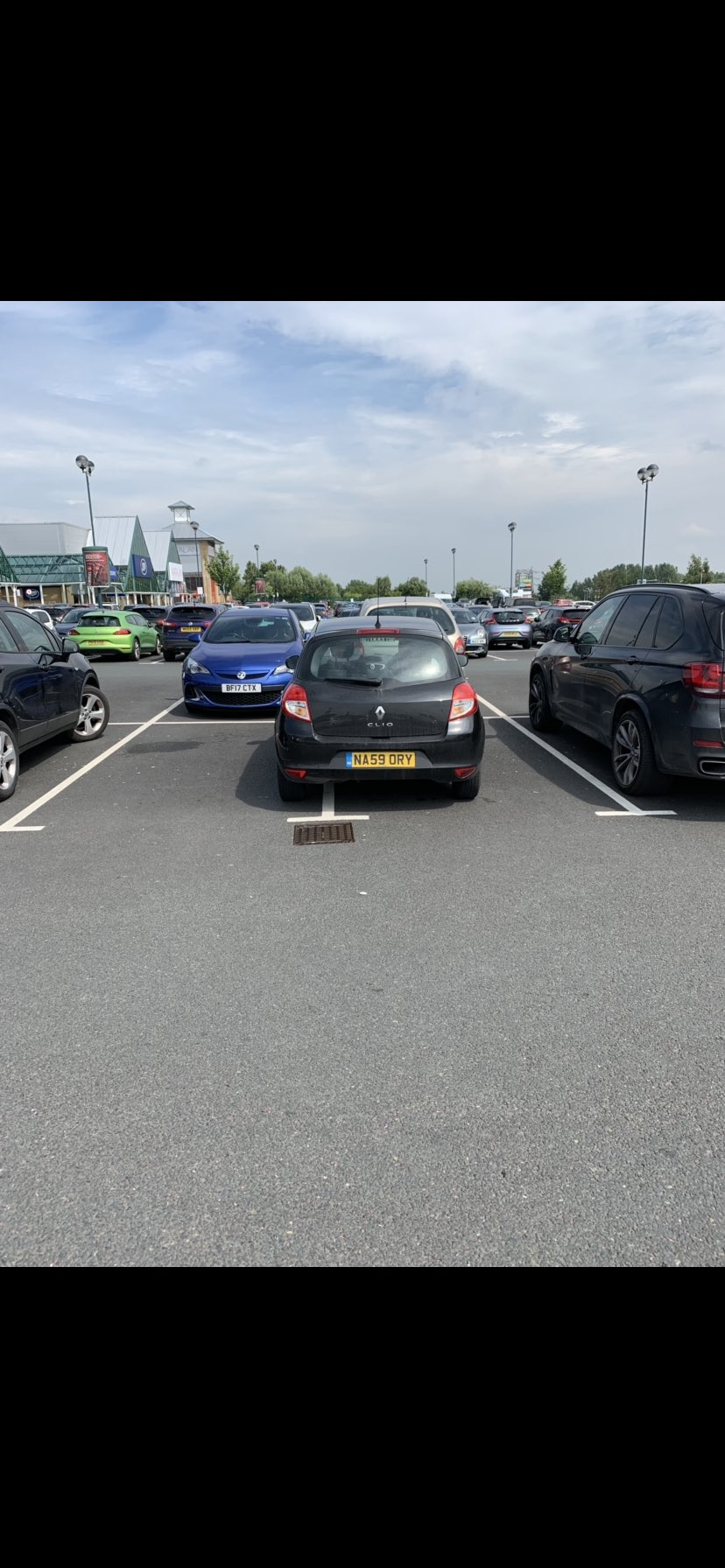 NA59 ORY displaying Selfish Parking