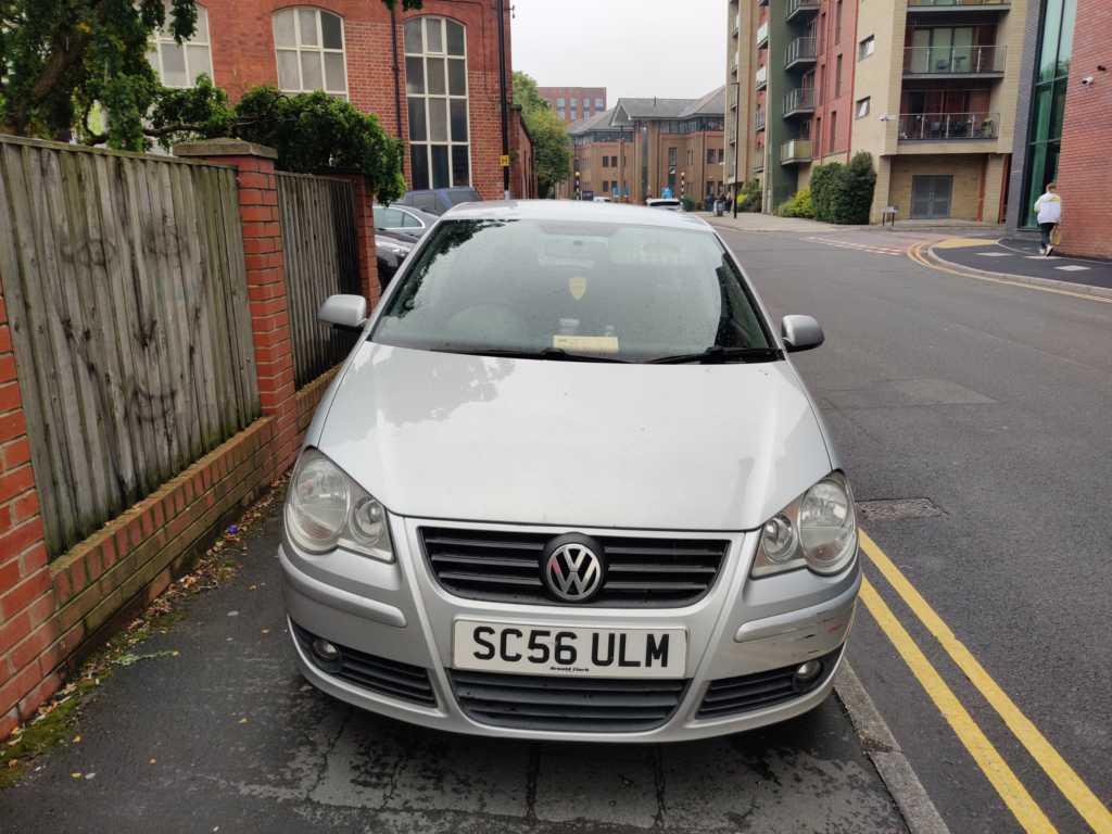 SC56 ULM displaying crap parking